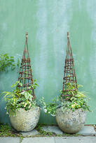 Anthropologie Willow Garden Obelisk