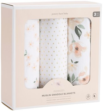 Pottery Barn Kids Organic Meredith Swaddle Set