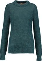 Michael Kors Sequin-embellished open-knit sweater