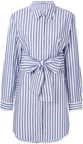 Alexander Wang striped shirt dress - women - Cotton - 4