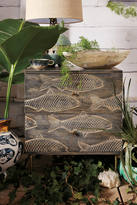 Anthropologie Handcarved Streamlet Three-Drawer Dresser