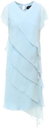 Max Mara Flounced Dress
