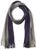 Calvin Klein Ombre Stripe Scarf Scarves