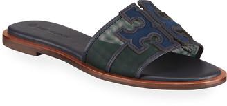 Tory Burch Ines Flat Slide Sandals