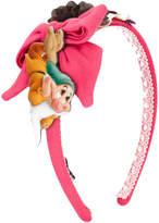 MonnaLisa Snow White headband