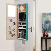 Asstd National Brand Inspired Home Galatea Over-the-Door Jewelry Armoire Makeup Storage Organizer