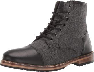 Crevo Men's Demarcon-Leather Fashion Boot