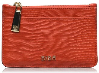 Biba Leather Zip Top Coin Purse