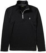 Polo Ralph Lauren Peached Jersey Long-Sleeve Half-Zip Pullover