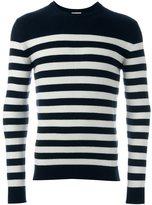 Saint Laurent striped sweater - men - Cashmere - M