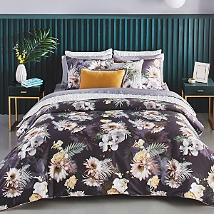 Ted Baker Woodland Gray Comforter Set, King