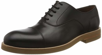 Lottusse Men's T2465 Derbys Black (Duck Negro Duca Negro) 9.5 UK