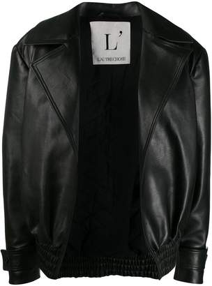 L'Autre Chose leather and cotton