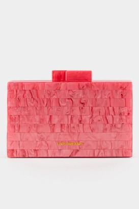francesca's Tina Neon Hardcase Clutch - Neon Pink
