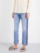 MiH Jeans Jeanne straight high-rise jeans