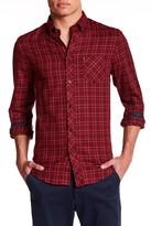 Ben Sherman Long Sleeve Tattersall Check Regular Fit Shirt