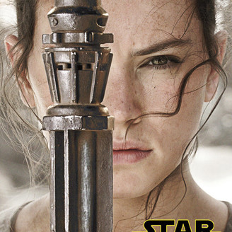 Star Wars Trends International The Force Awakens Rey Portrait Poster, Premium Unframed