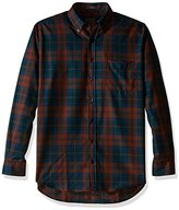 Pendleton Men's Tall Size Big Long Sleeve Button Front Sir Pen Shirt