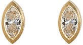 Malcolm Betts Women's Marquise-Shaped White Diamond Stud Earrings