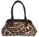 Max Mara Printed Ponyhair shoulder bag