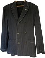 Jean Paul Gaultier Anthracite Cotton Jackets