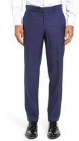 Ted Baker Men's Jefferson Flat Front Solid Wool Trousers