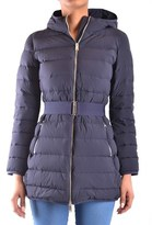 ADD Women's Blue Polyester Down Jacket.