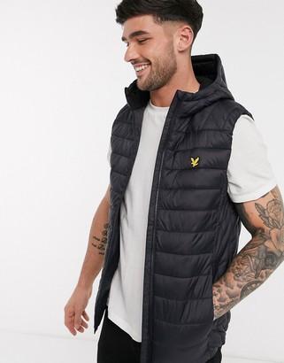 Lyle & Scott lightweight quilted vest