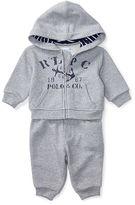 Ralph Lauren Cotton Hoodie & Pant Set
