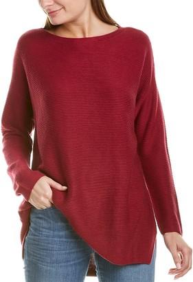 Eileen Fisher Bateau Neck Silk & Cashmere-Blend Tunic