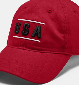 Under Armour Men's UA Adjustable USA Cap