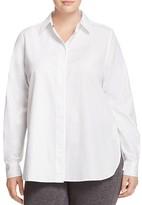 Marina Rinaldi Basilico Cotton Jacquard Shirt