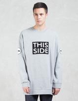 Cheap Monday Combust Multi Patch Sweatshirt