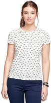 Brooks Brothers Short-Sleeve Printed Tee