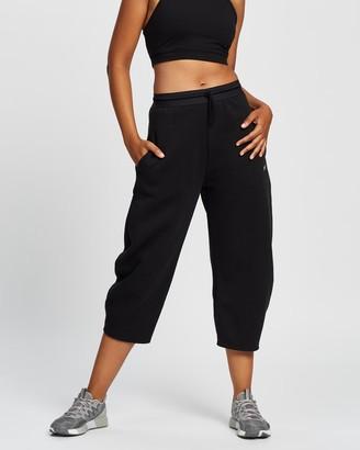 Reebok Performance - Women's Black Sweatpants - Studio Fleece Pants - Women's - Size S at The Iconic