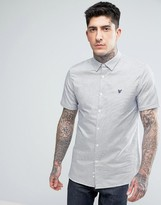Lyle & Scott Horizontal Stripe Oxford Shirt