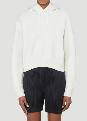 Valentino Cropped Hoodie