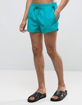 HUGO BOSS BOSS By Mooneye Swim Shorts In Green