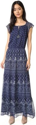Joie Women's Manaliatile Batik Printed Crinkle Georgette 12Mm