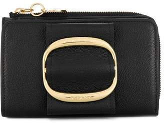 See by Chloe gold-tone zipped wallet