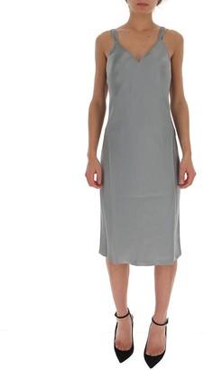 Helmut Lang V-Neck Sleeveless Dress
