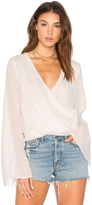 The Jetset Diaries Sanja Wrap Top