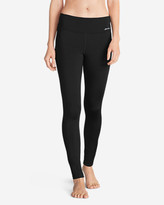 Eddie Bauer Women's Crossover Fleece Leggings - Solid