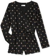 Epic Threads Long-Sleeve Romper, Big Girls (7-16), Only at Macy's