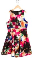 Milly Minis Girls' Printed A-Line Dress w/ Tags