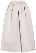 Emporio Armani Duchess Satin Full Skirt