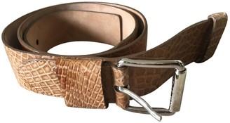Michael Kors Camel Leather Belts