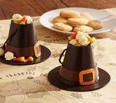 Pottery Barn Kids Pilgrim Hat Paper Mache Treat Container Set