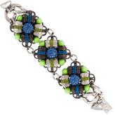 Assad Mounser Neon Crystal Link Bracelet