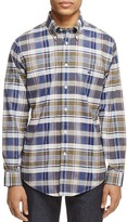 Brooks Brothers Plaid Slim Fit Button-Down Shirt